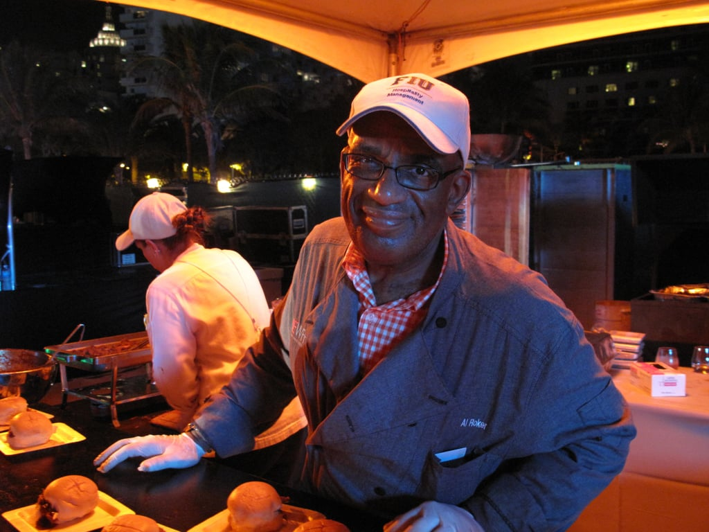 Al Roker Servin' Up Sliders