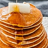 Silver Dollar Pancakes with Almond Flour