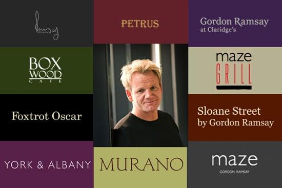 Gordon Ramsay's Company Voted Top Chain