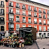 One of my favorite activities while exploring Madrid was freely roaming and wandering my way around. It was during this time I stumbled upon some of the simplest — yet most beautiful — moments. Whether it was strolling past a random floral vendor arranging a stunning bouquet or looking down at the uneven cobblestone streets and thinking about all the many steps that took place before my years, there was tremendous beauty to embrace all over.