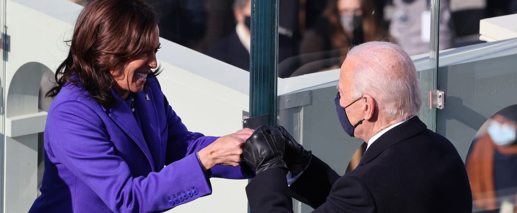 Everyone Was Fist-Bumping at the Presidential Inauguration