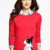 Talbots Boston Terrier Sweater ($90)