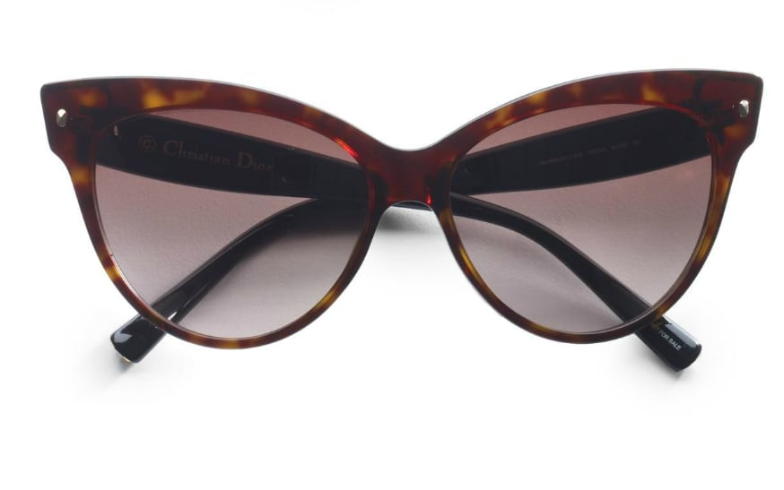 These Christian Dior Cat's-Eye Sunglasses ($295) call to mind ladylike style setters like Olivia Palermo.