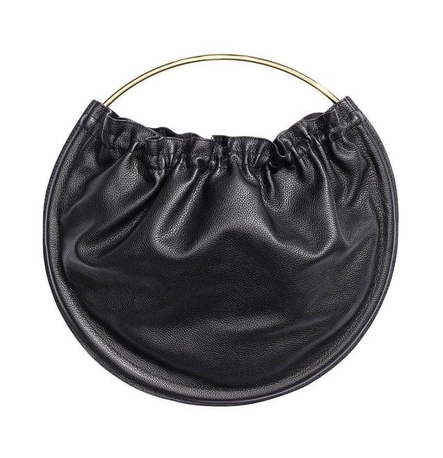 H&M Round Leather Bag ($99)