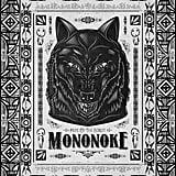 Miyazaki's Princess Mononoke Wolf Line Art ($10+)