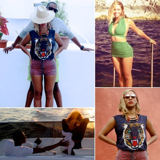 Snap-Happy Beyoncé Takes Us Inside Her Overseas Vacation