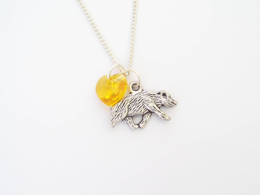 Hogwarts House Pride Hufflepuff Harry Potter Necklace ($11-$25)