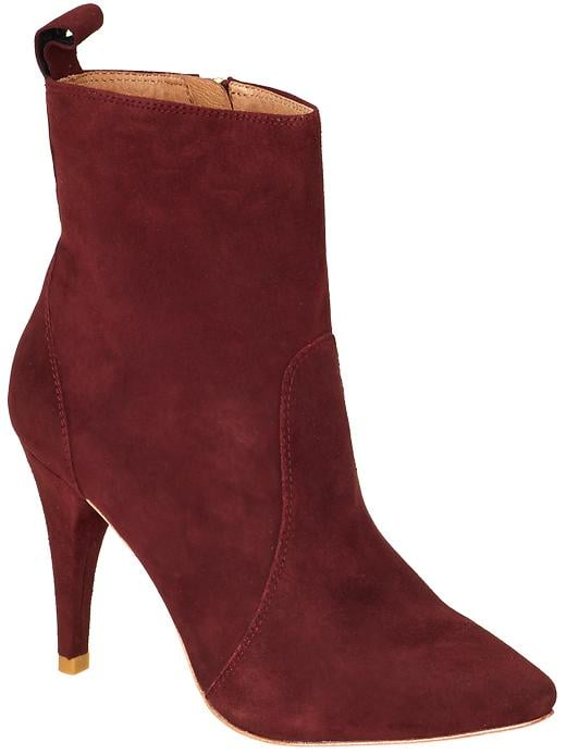 4059604f4ad Joie Hadie dark red ankle boots ($165, originally $325) | The Shoes ...