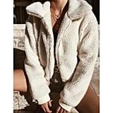 Urkutoba Thick Warm Teddy Bear Jacket