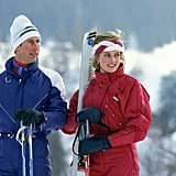 When They Made Monochromatic Ski Outfits Cool Again