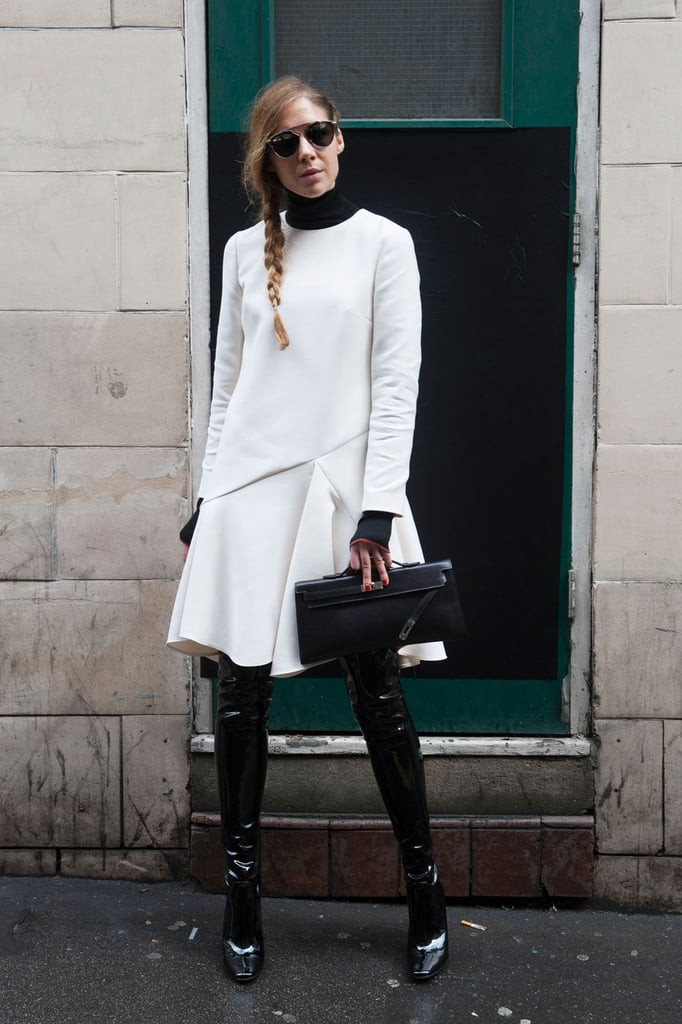 London Fashion Week Street Style Ss 2016 Popsugar Fashion Australia Photo 11