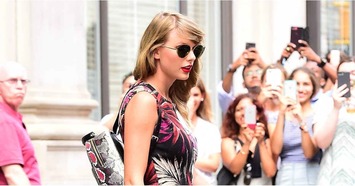 Taylor Swift Wore a Snakeskin Bag Precisely 2 Years After Kim Kardashian Called Her a Snake