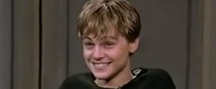 Watch a Teenage Leonardo DiCaprio Charm David Letterman For the First Time
