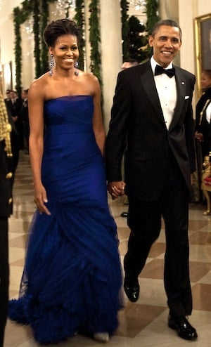 Michelle Obama Wears Vera Wang to Kennedy Center Honors