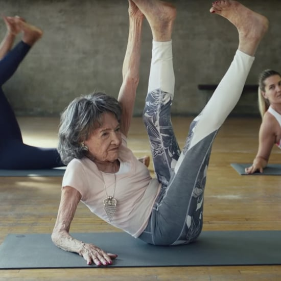 The World's Oldest Yoga Teacher Stars in New Athleta Ad