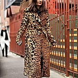 Style Your Leopard-Print Coat With: Black Basics and Boots