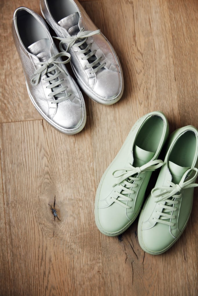 Wear Shoes Made of Plastic or Leather