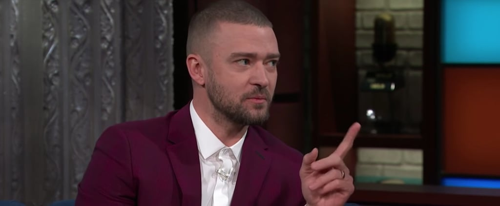 Justin Timberlake Stargazes With Stephen Colbert and Gushes About Kate Winslet