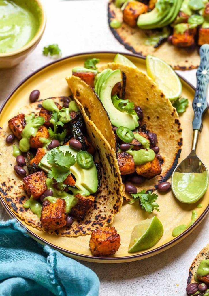 Vegan Chipotle-Roasted Butternut Squash Tacos