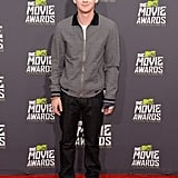 Logan Lerman stepped out for the MTV Movie Awards.
