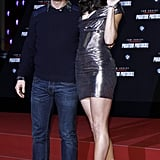 Tom Cruise and Paula Patton arrived at another Mission: Impossible — Ghost Protocol premiere.