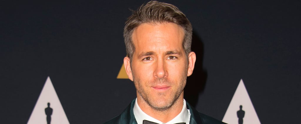 Ryan Reynolds's Handsome Red Carpet Appearance Will Stop You in Your Tracks