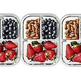 3-Compartment Glass Meal Prep Containers