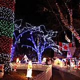 Visit a Christmas Light Display