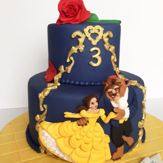 Beauty and the Beast Birthday Cakes