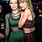 Taylor Swift spent her 25th birthday surrounded by superstar friends such as Iggy Azalea.