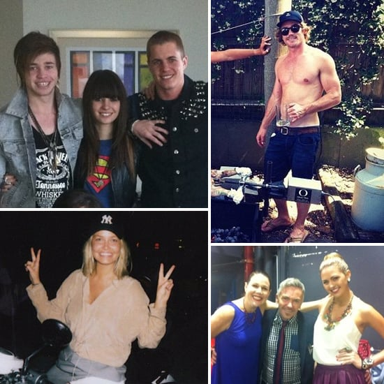 Fun and Funny Celebrity Twitter Pictures of Reece Mastin, Christina Parie, Hayden Quinn, Jesinta Campbell