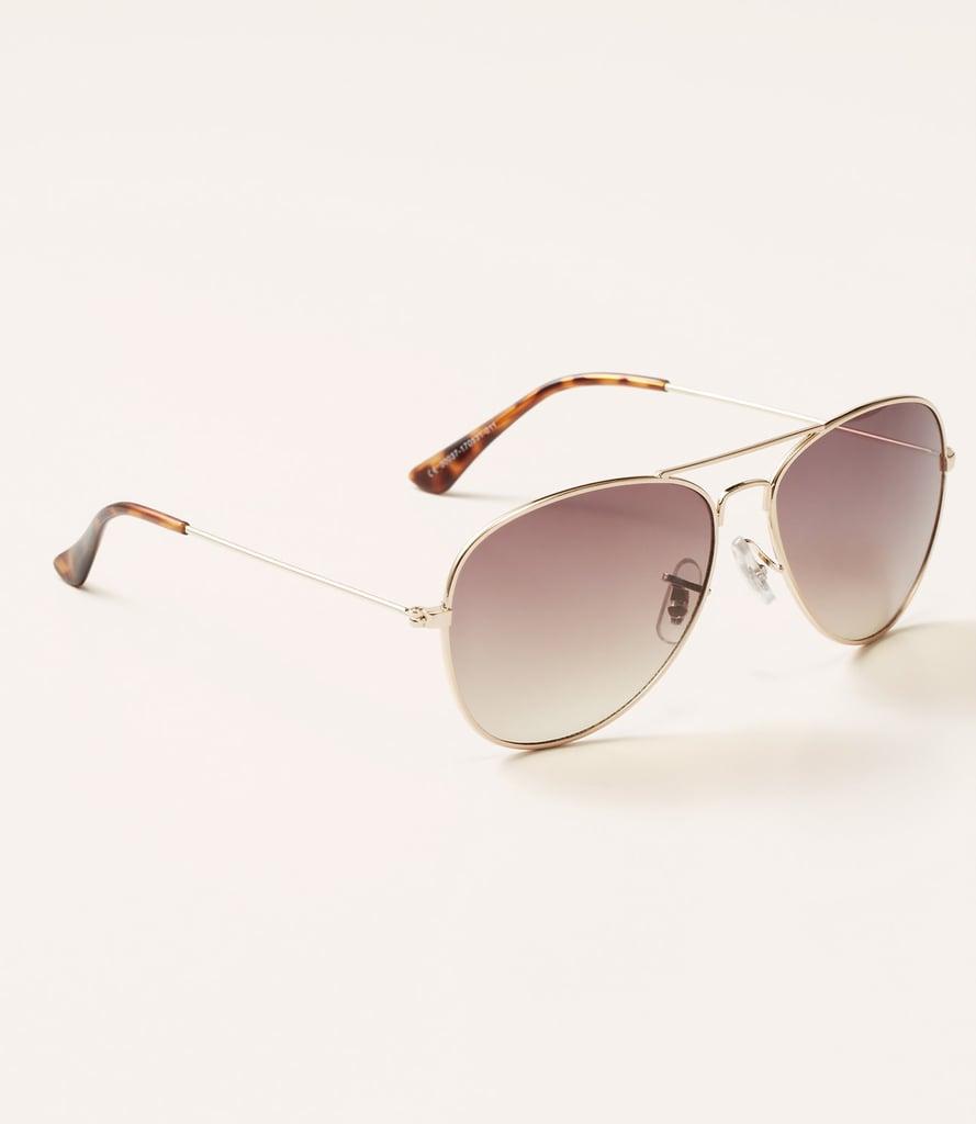 Loft Girl Aviator Sunglasses ($25)