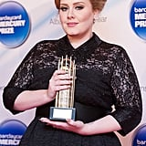 Adele gave birth to her first child in October 2012.