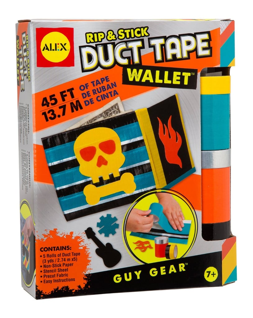 For 7-Year-Olds: Alex Toys Craft Guy Gear Rip and Stick Duct Tape Wallet Kit