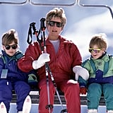 When She Kept Her Boys Safe on the Ski Lift