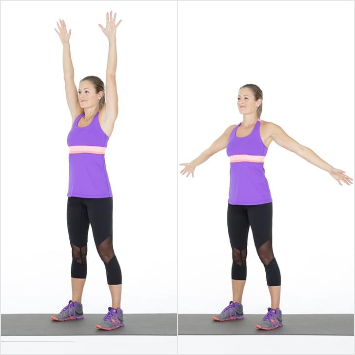 Warmup: Forward and Backward Arm Circles