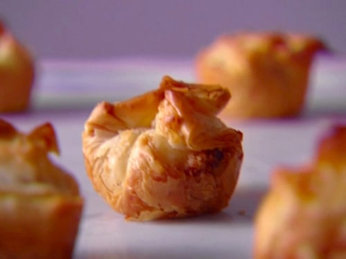 Crispy Cheese-Filled Phyllo Bites