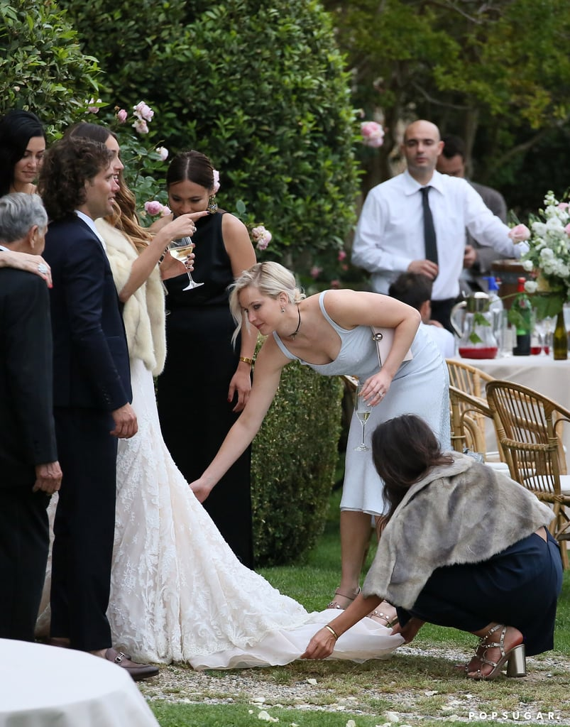 Jennifer Lawrence at Best Friend's Wedding May 2016