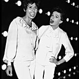With Judy Garland in 1962.