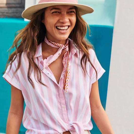 Striped Button-Down Shirt at Old Navy