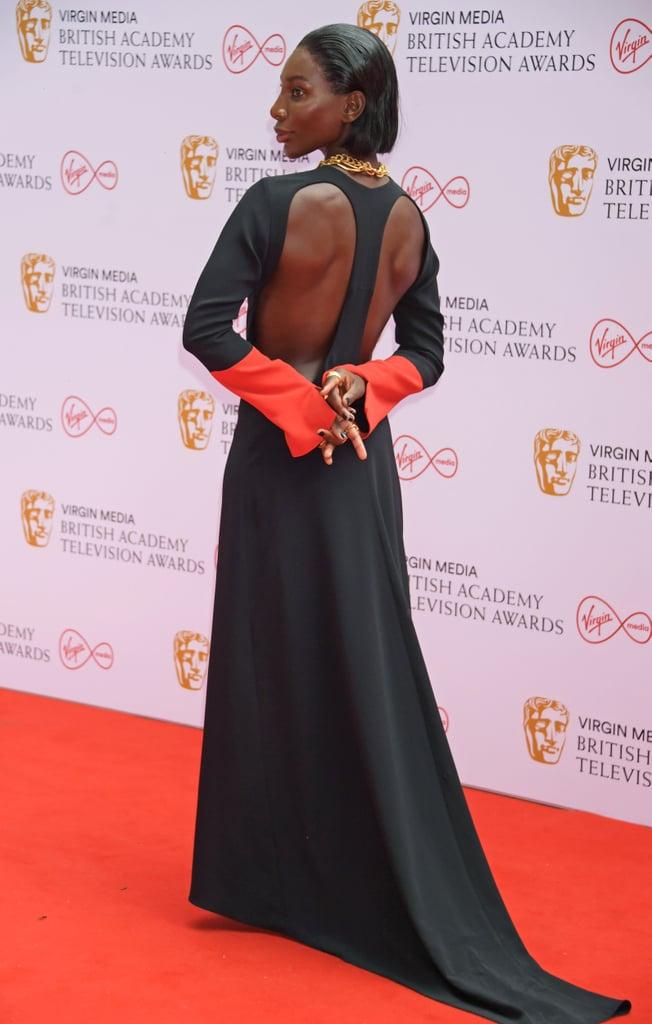 Michaela Coel's Dress at the 2021 BAFTA Television Awards