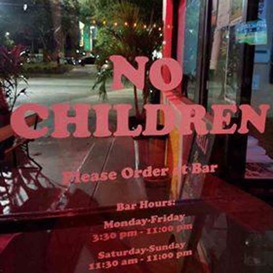 Florida Restaurant Bans Children