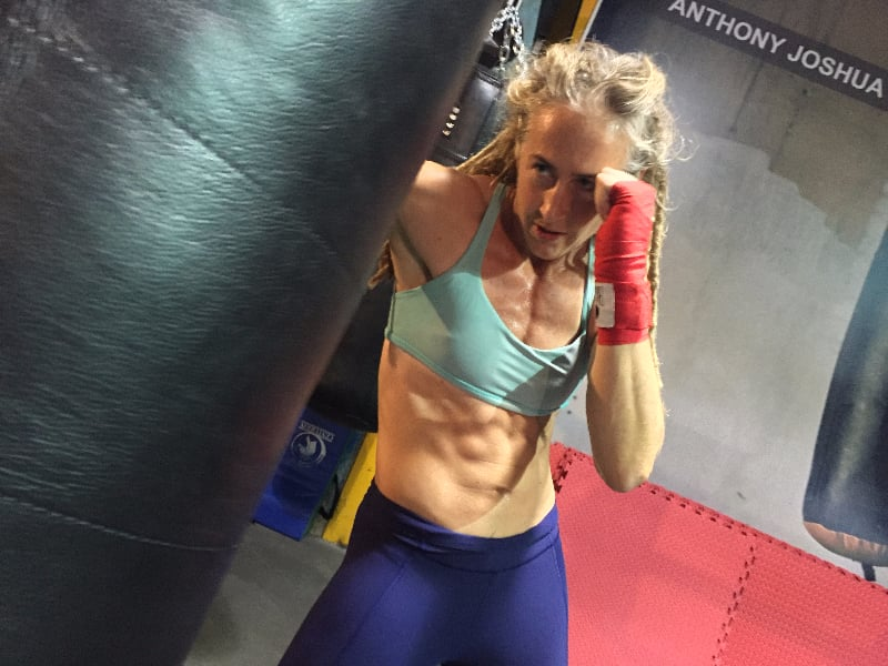 BOXING BRINGS THE ABS!