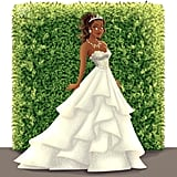 Tiana as a Bride