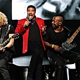 Lionel Richie entertained crowds All Night Long