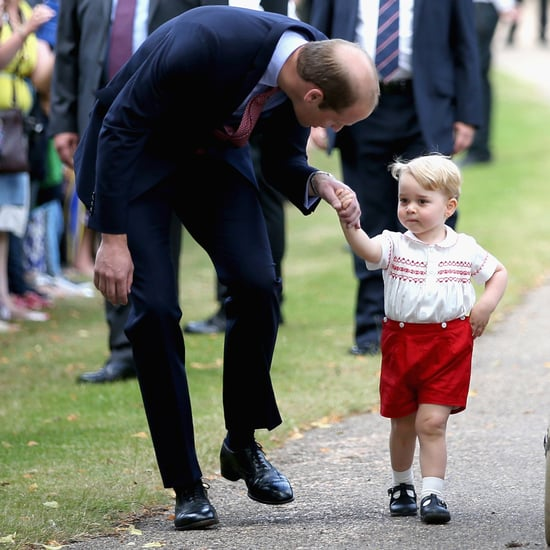 Video of Prince George at Princess Charlotte's Christening
