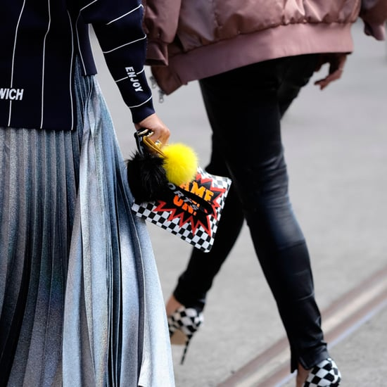 Fashion Week Street Style Trend | Fluffy Pom-Pom Keyrings