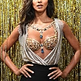 2017: Lais Ribeiro in the Champagne Nights Fantasy Bra