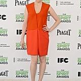 Greta Gerwig at the 2014 Spirit Awards