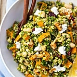 Sorghum, Sweet Potato, and White Bean Salad With Kale Pesto